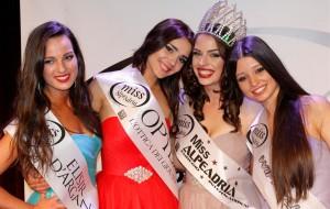 Miss Alpe Adria International il titolo di quest'anno va alla Croazia