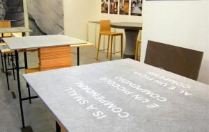 VIRTUOSE SINERGIE PER PIETRA PIASENTINA  :tavolo di 8 metri firmato Fabrica