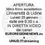 UNIUD:APERTURA ANNO ACCADEMICO IN DIRETTA EUROREGIONENEWS