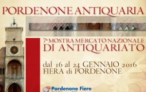 PORDENONE CAPITALE DELL'ANTIQUARIATO