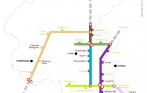 WINE TUBE MAP PER I VINI FVG?