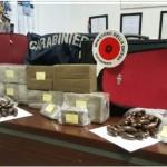 CARABINIERI TRIESTE ARRESTANO MAROCCHINO CON 16 CHILI DI DROGA