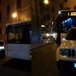 SAF SPORGE DENUNCIA ALLA PROPRIETARIA DEL SUV PARCHEGGIATO IN DIVIETO DI SOSTA SABATO SCORSO