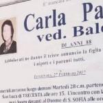 SCAMBIO DI PERSONA, IMPOSSIBILE FUNERALE PERCHE' RISULTAVA VIVA