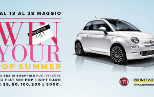 WIN YOUR POP SUMMER AL PALMANOVA OUTLET VILLAGE