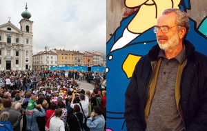 FIGURE IN FESTA: A GORIZIA IL MAXI MURALE DI ALTAN