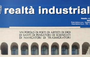 REALTA' INDUSTRIALE: ON LINE IL NUMERO DI MAGGIO