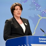 LA COMMISSARIA EUROPEA PER I TRASPORTI, VIOLETA BULC, A GORIZIA