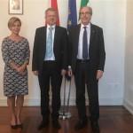 FVG-AUSTRIA: TORRENTI-SPADINGER, CONFERMA RAPPORTI PRIVILEGIATI