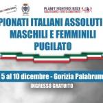 A GORIZIA, I CAMPIONATI ITALIANI  ASSOLUTI DI PUGILATO 2017