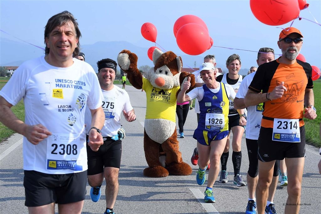 Cividale - Palmanova - Aquileia 26 Marzo 2017. Maratona Unesco 2017. © Petrussi Foto Press / Diego Petrussi
