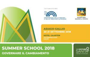 GOVERNARE IL CAMBIAMENTO, LA SUMMER SCHOOL 2018 DI MOTORE SALUTE