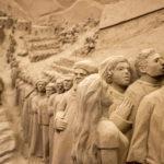LIGNANO: PRESEPE DI SABBIA GEMELLATO CON GRECCIO