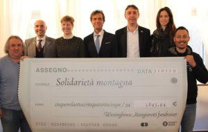 SOLIDARIETA' MONTAGNA: 6 MILA EURO DALLA MANGIAROTTI E DAI SUOI LAVORATORI