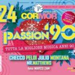 UDINE  – PARCO DEL CORMOR ANCORA PASSION '90!