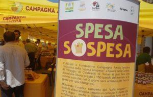 """""""SPESA SOSPESA"""" DI COLDIRETTI E CAMPAGNA AMICA PER AIUTARE GLI AFFAMATI"""
