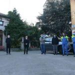 BUSTE PER MASCHERINE IN DONO AL COMUNE DI UDINE