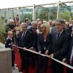 Inaugurazione centrale idroelettrica del Cormor