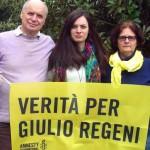 PRESIDENTE CONSIGLIO REGIONALE IACOP INCONTRA I GENITORI DI GIULIO REGENI