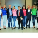 CICLISMO: A GRADO LA PRIMA TAPPA GIRO D'ITALIA FEMMINILE