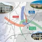 DELEGAZIONI DA 5 PAESI EUROPEI SUL CONFINE GORIZIANO PER STUDIARE LA MOBILITA' SOSTENIBILE TRANSFRONTALIERA