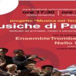 """""""MUSICHE DI PACE"""" IN OSPEDALI, CASE DI RIPOSO E HOTEL"""